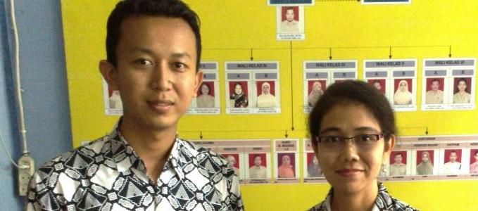 Dua Guru SDN Percobaan 2 Depok Ikut Program BRIDGE di Australia